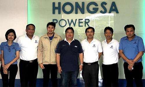 BKI และ BKIL เข้าเยี่ยมชมโรงไฟฟ้า Hongsa Power สปป.ลาว