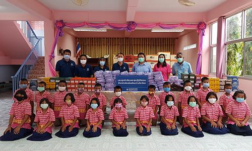 BKI สนับสนุนทุนอาหารกลางวันพร้อมชุดนักเรียนเพื่อส่งเสริมคุณภาพชีวิต